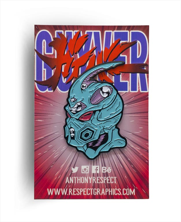 Bio Boosted Guyver Anime Edition 80s Anime Enamel Pin By Respect
