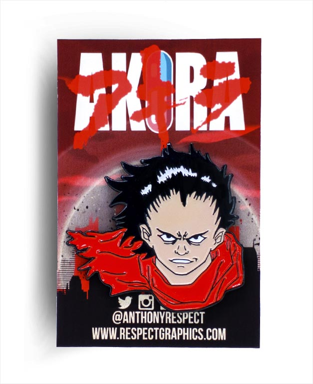 Akira Tetsuo Last Stand Edition 80s Anime Soft Enamel Pin by Respect
